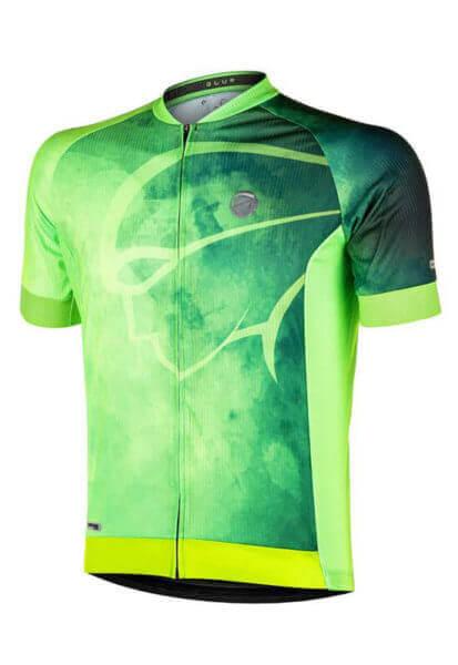 Camisa Ciclismo Blur Fluor
