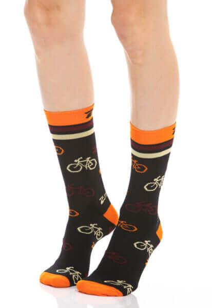 Meia ciclismo Orange_Bicycles
