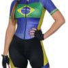 Macaquinho Ciclismo Brasil Azul