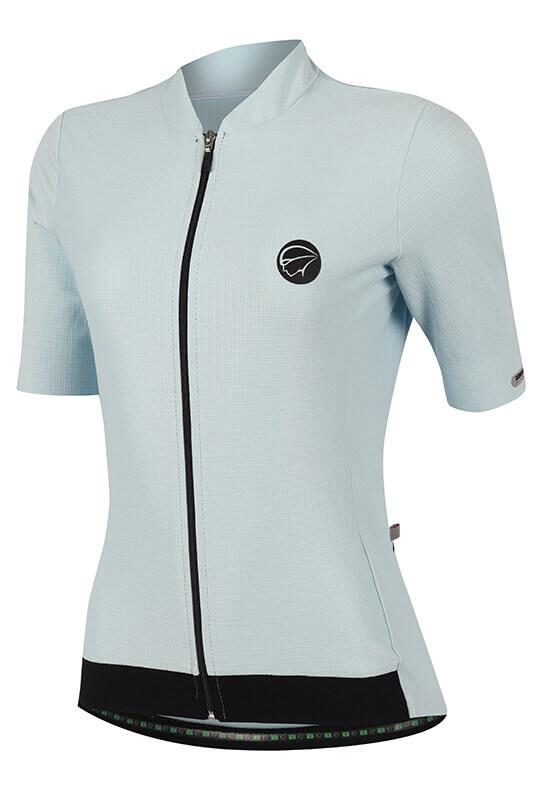 Camisa Ciclismo Fiber Baby_Blue