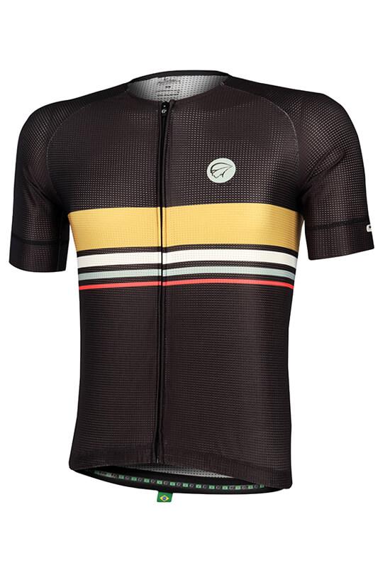 Camisa Ciclismo Horizon Preta