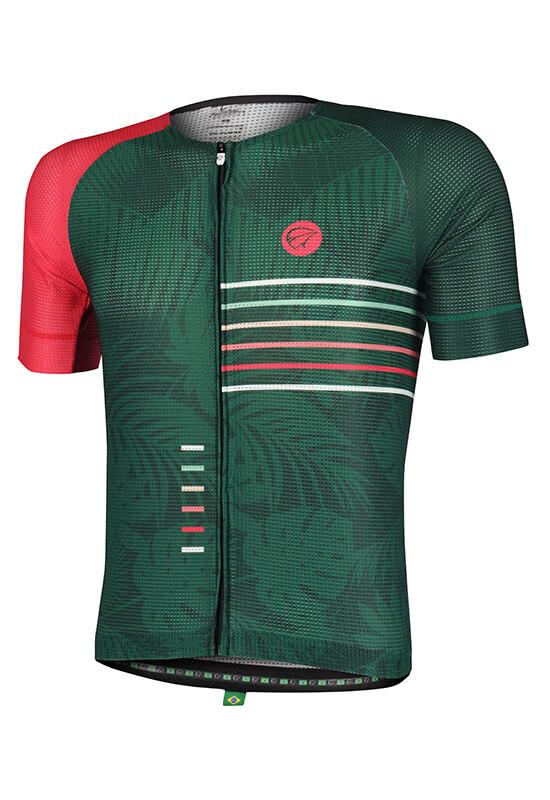 Camisa Ciclismo Masculina Energy_Verde