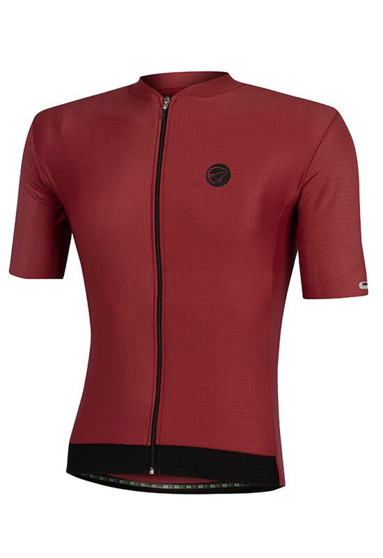 Camisa Ciclismo Masculina Fiber_Vinho