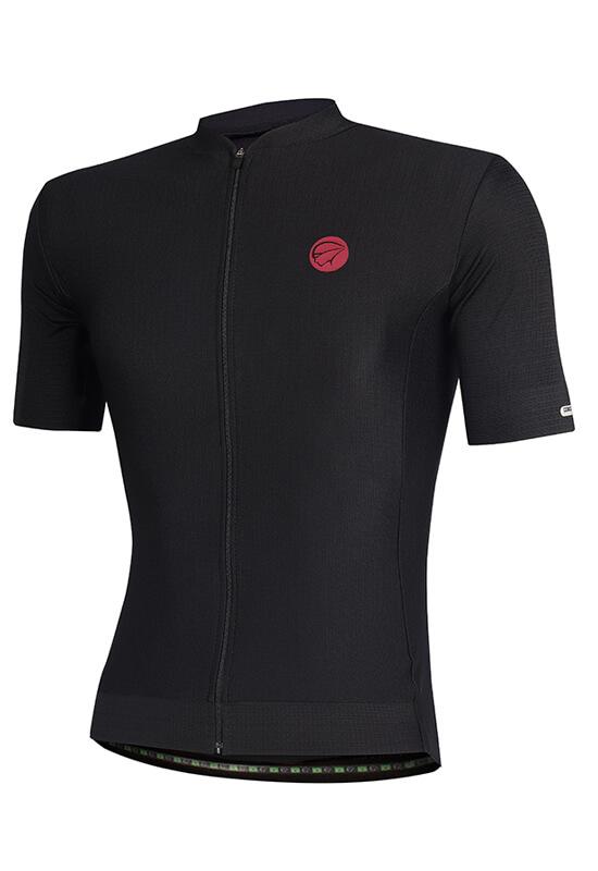 Camisa Ciclismo Masculina Fiber_Black